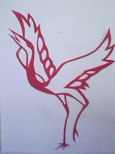 仙鹤(3) - 我的剪纸作品 - 相册 - 永远的红柿子设计