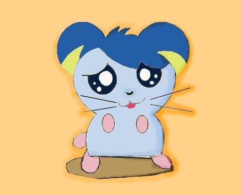 鼠绘可爱的小老鼠 - 我的杰作