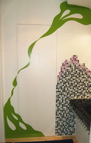 手绘墙面案例图片 - 设计师bjhgghyy设计工作室的