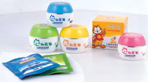 加菲猫品牌-儿童洗护系列产品-儿童洗护品牌-设计
