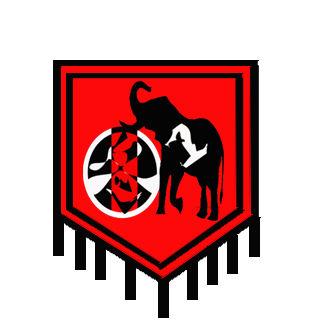 班旗形状案例图片 班徽班旗设计 班级logo