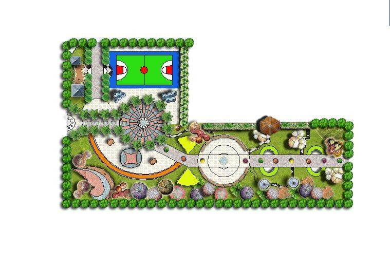 小游园设计平面图手绘内容|小游园设计平面图手绘 ...