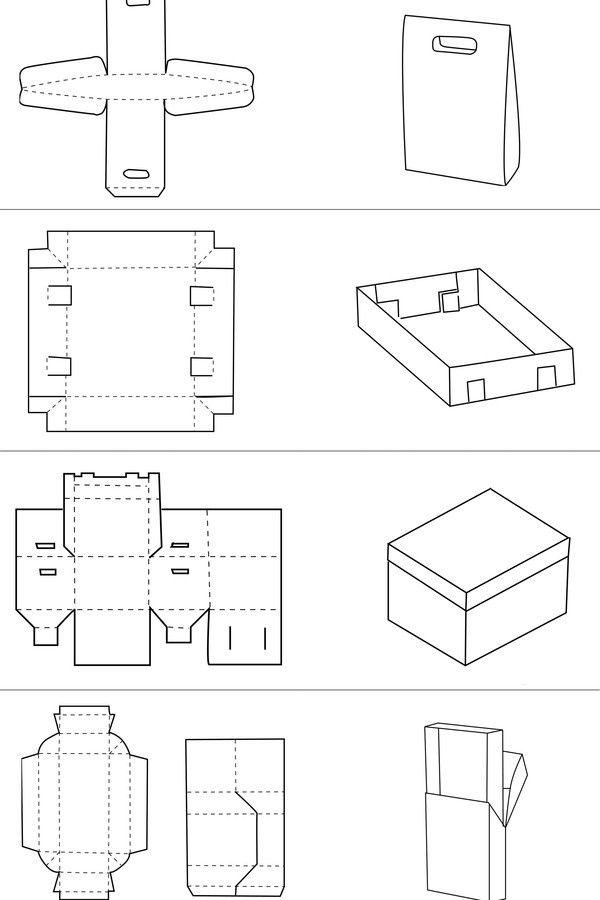 包装结构盒案例图片 - 设计师尚流设计的空间 - 红动