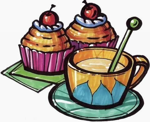 咖啡pop图片手绘图片