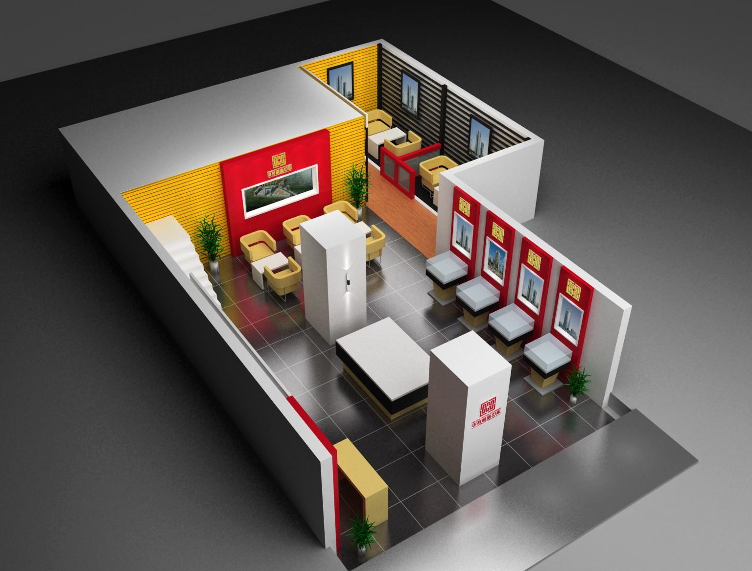 售楼部01案例图片-商业展览-展示空间设计图片