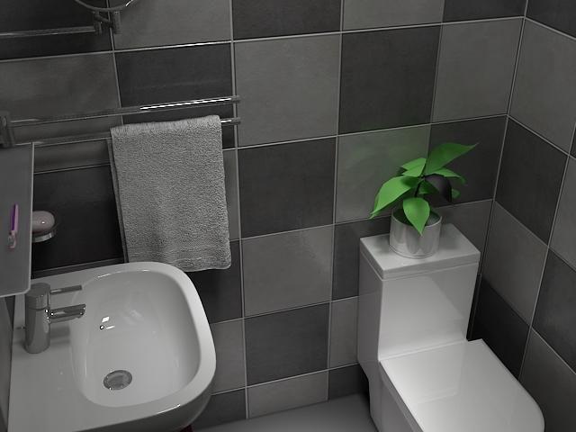 普通家装卫生间案例图片 随便做的 普通家装 高清图片