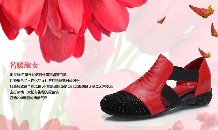 2011新款舒适女鞋案例图片-
