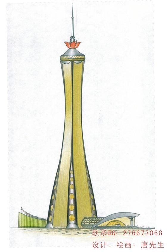 手绘设计-花瓶音箱