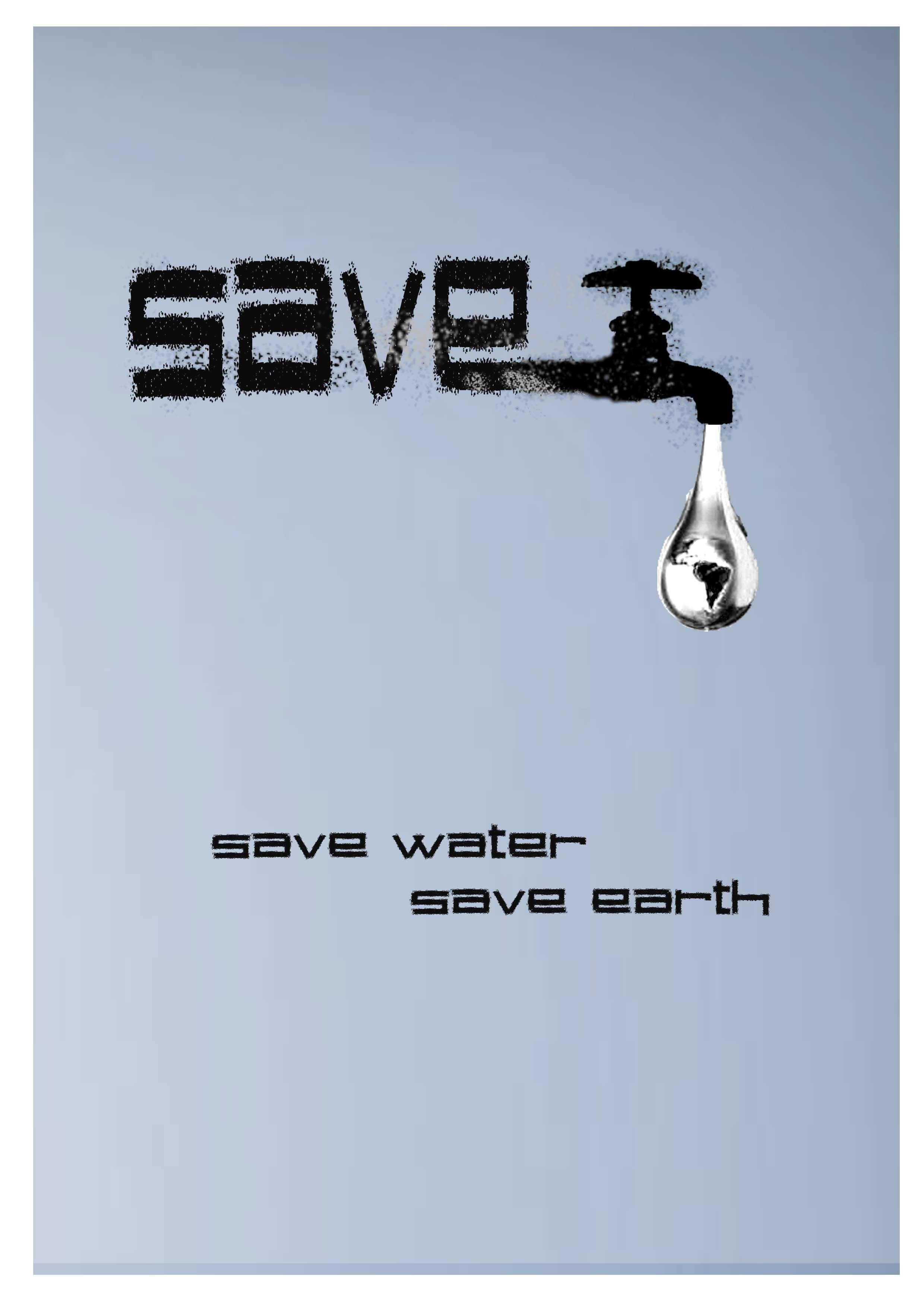节约用水-招贴-设计案例