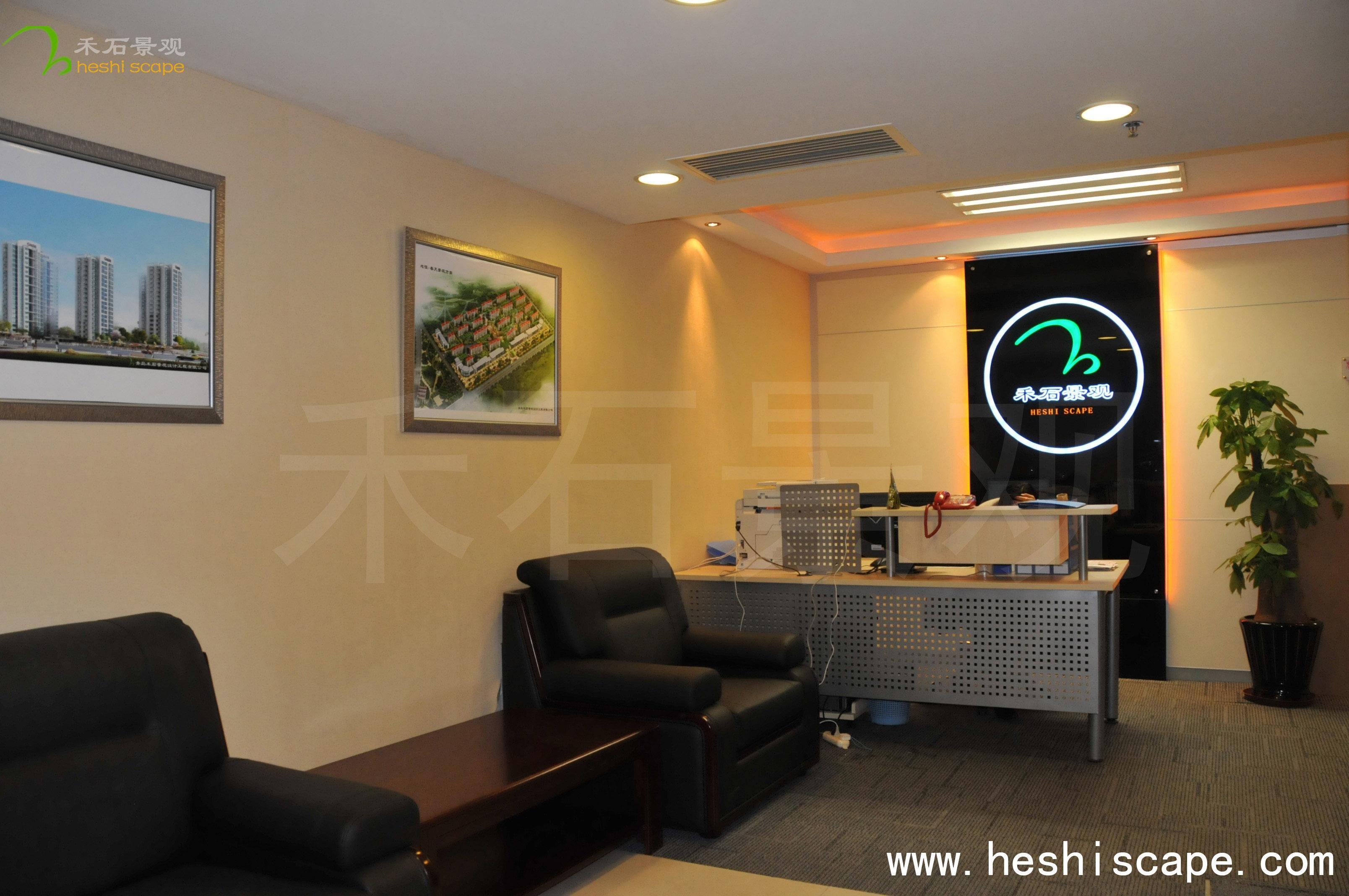 红动中国 青岛广告公司 禾石景观 设计案例     其他案例图片   前台