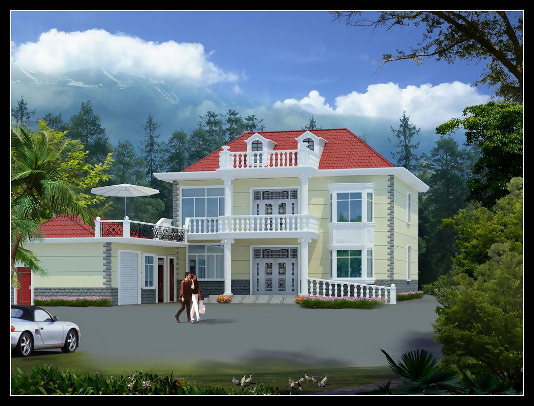 新农村别墅 自建房 建筑外观