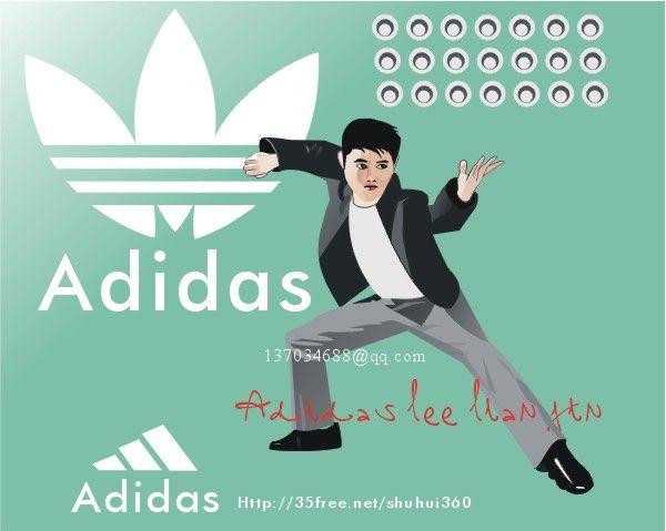adidas广告案例图片-原画大广告-创意广告图片