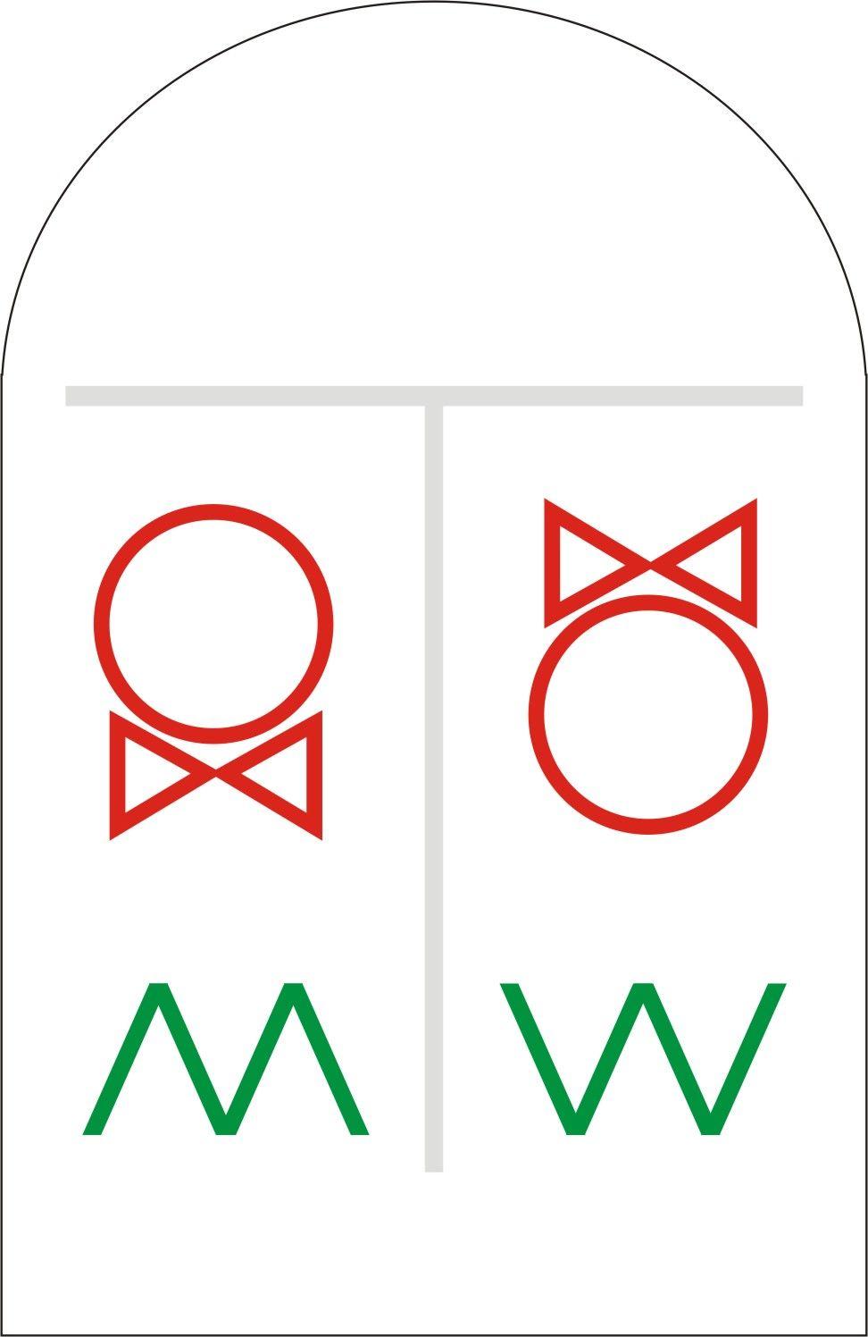 厕所标志案例图片 设计师kiroro0设计工作室的空间 红动中国设计空间