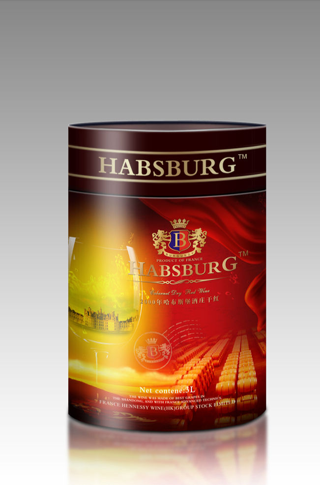 葡萄酒包装-包装设计-设计案例