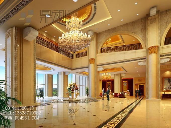 酒店大堂效果图案例图片图片