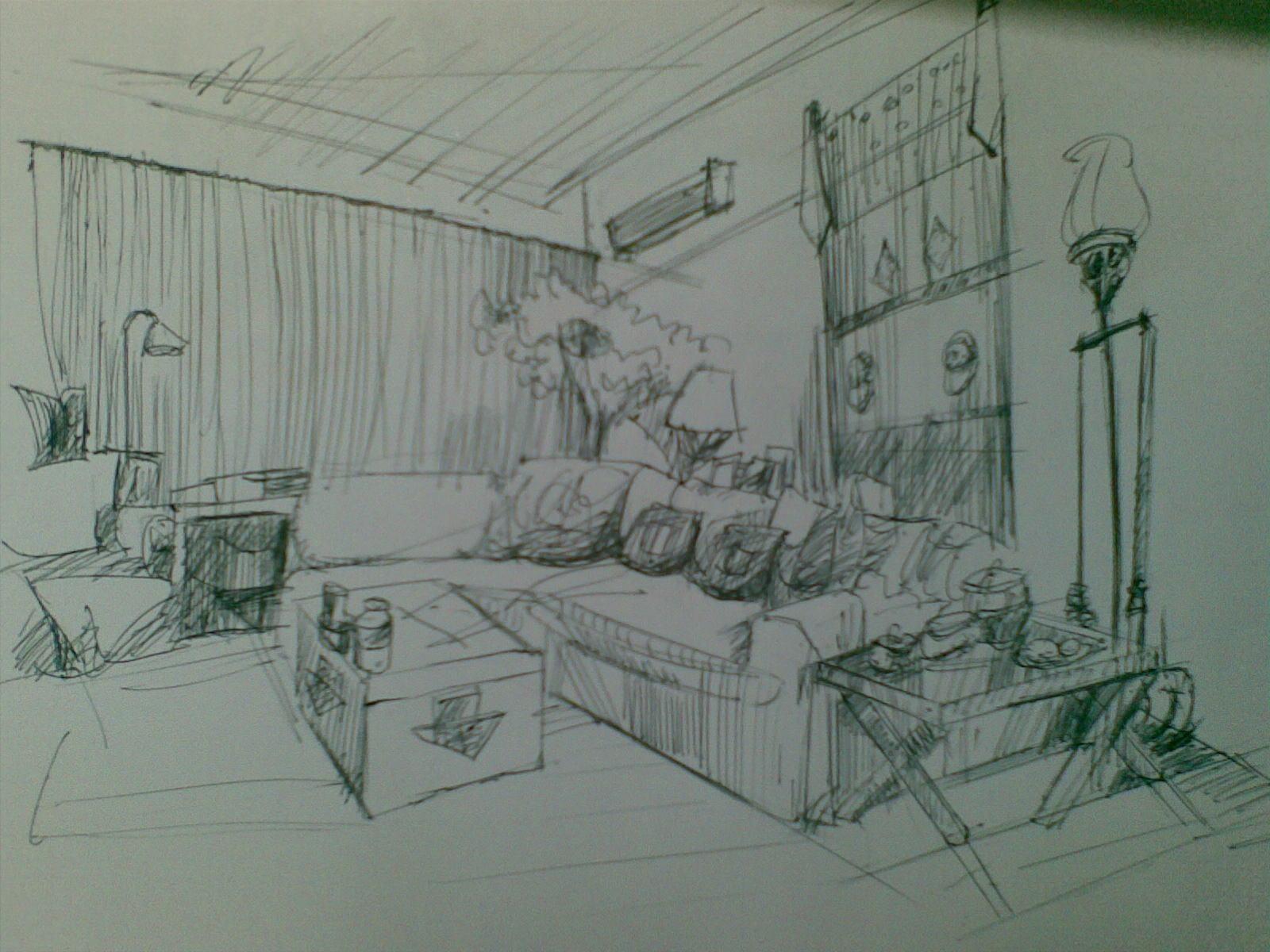 客厅案例图片 - 设计师雅鹤设计工作室的空间 - 红动图片