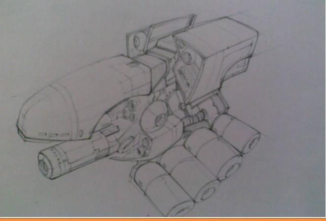 机械案例图片-手绘图-手绘;