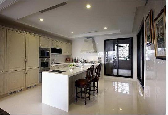别墅样板房装修设计 样板房装潢空间设计台湾三川设计上海