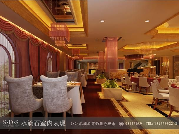 欧式酒店大厅案例图片-装修效果图-效果图