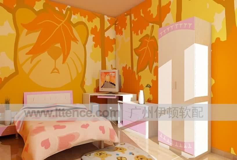 墙面彩绘 手绘墙 墙面涂鸦 视觉艺术 家装