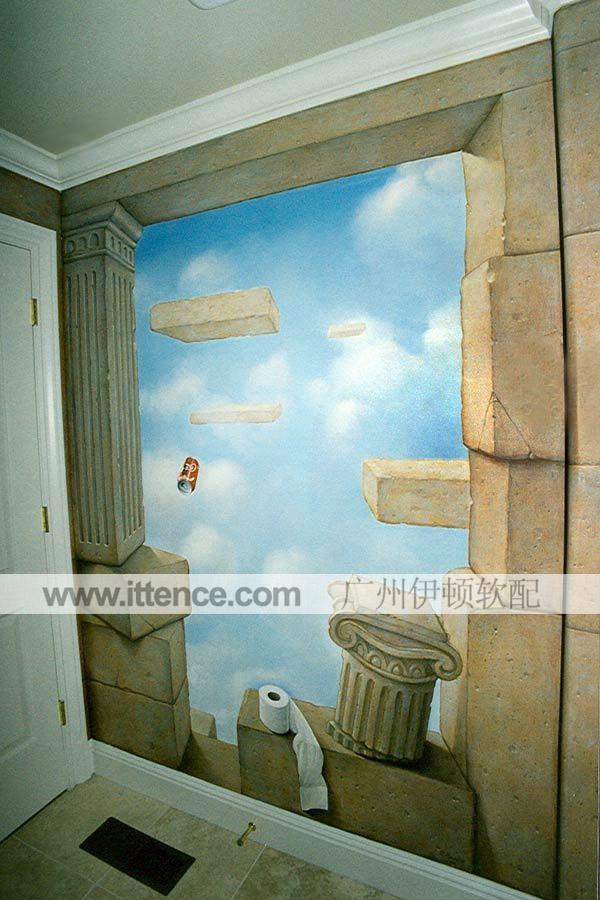 手绘墙 墙面涂鸦