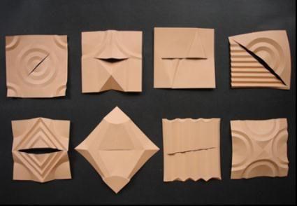 半立体构成 半立体构成作品 半立体构成折纸图解  (369x255); 折纸图片
