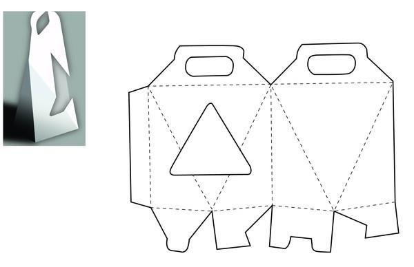 设计纸箱手绘图