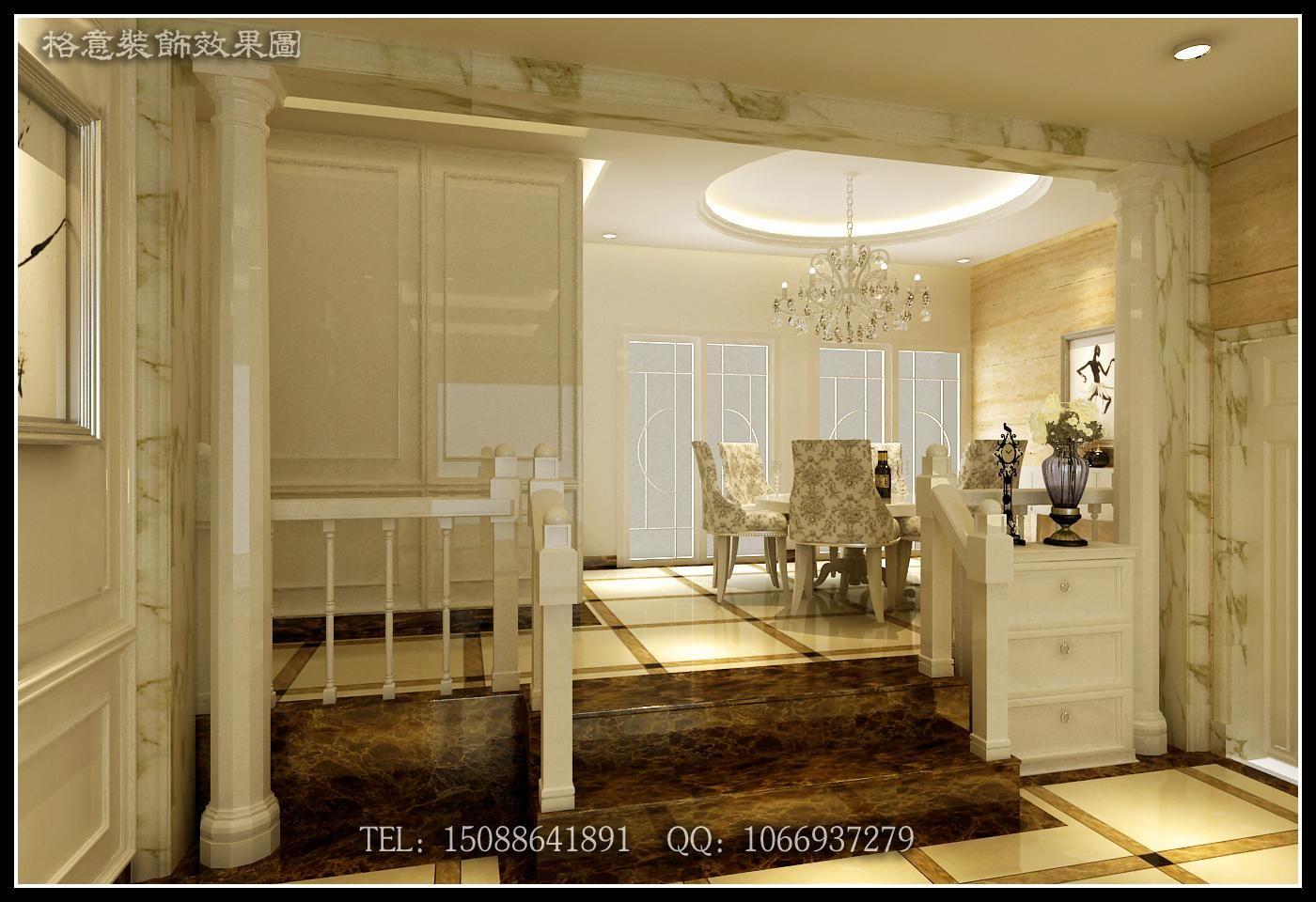 欧式门厅效果图制作    门厅效果图制作    客厅效果图制作现代风格