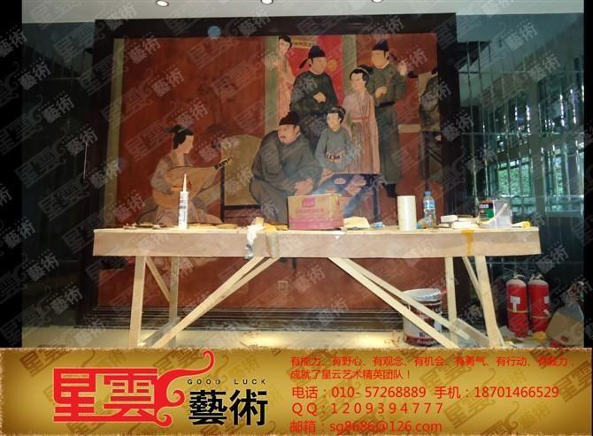 墙绘 手绘墙画 手绘壁画 墙画设计 【星云彩绘中心- 刘玲】