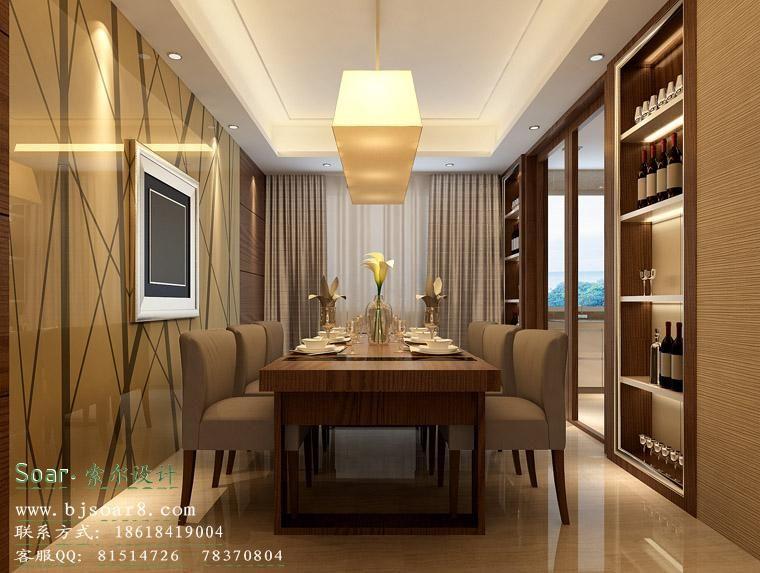 现代卧室效果图案例图片 设计师soar效果图设计工作室的空间 红动中高清图片