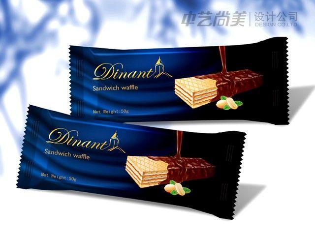 巧克力威化包装设计