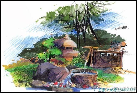 庐山艺术特训营 手绘