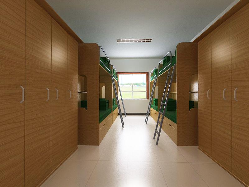 宿舍案例图片 - 设计师虹桥装饰设计工作室的空间