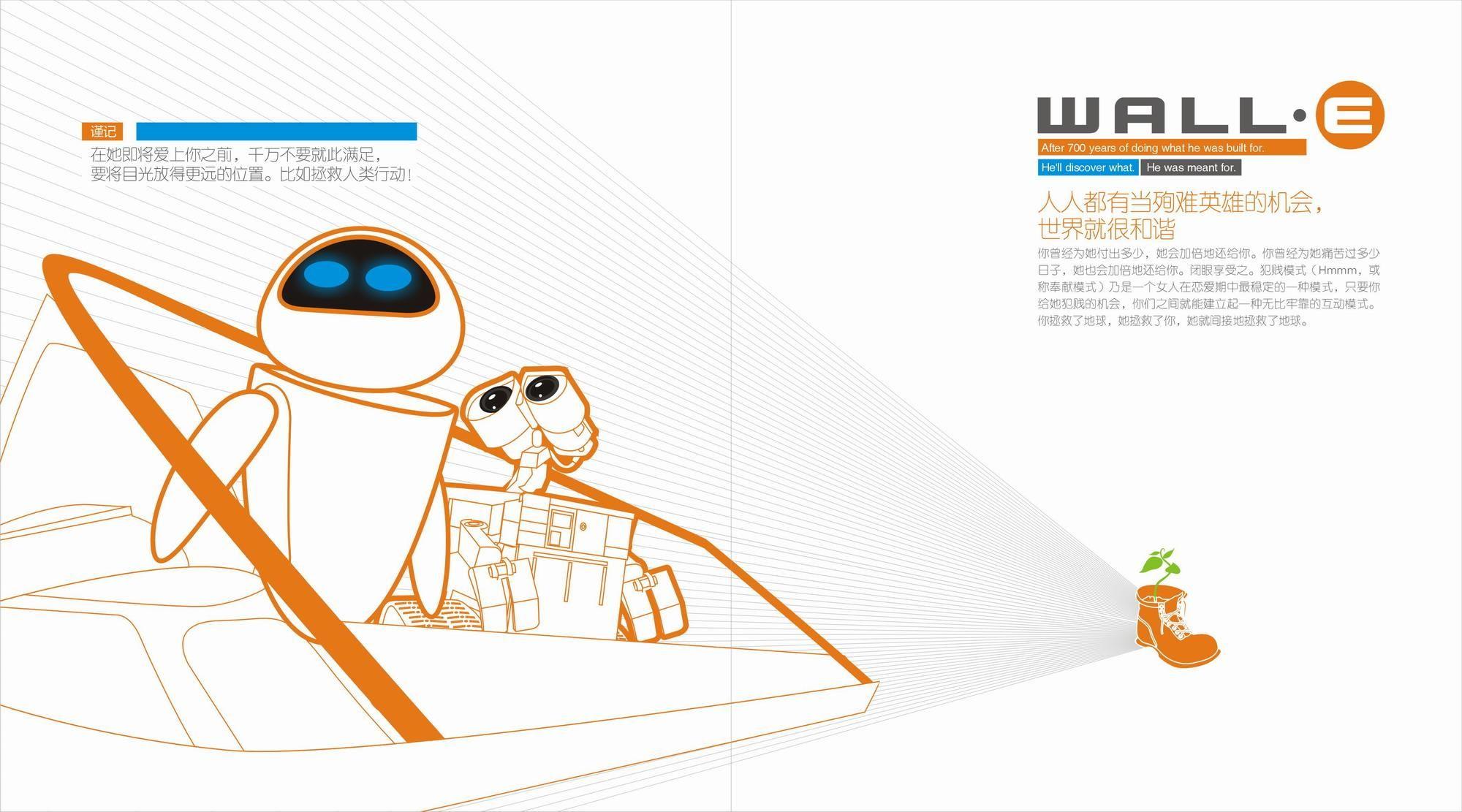 机器人瓦力案例图片 设计师我数学考80分设计工作室的空间 红动中国
