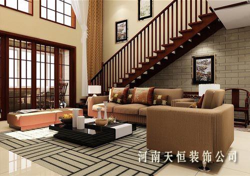 烟雨江南 中泰华庭装修设计图6高清图片