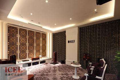 5号厅灯光照明设计效果案例图片 雅乐荟顶级音响灯光设计 埃素灯光设