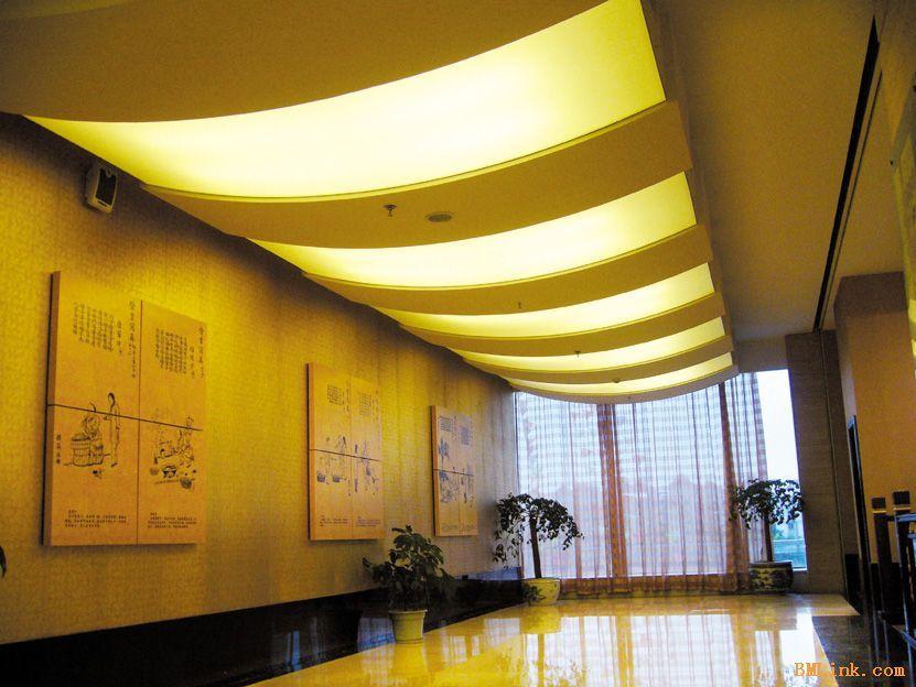 酒店软膜天花吊顶案例图片 上海酒店软膜天花吊顶 杭州软膜天花 杭州