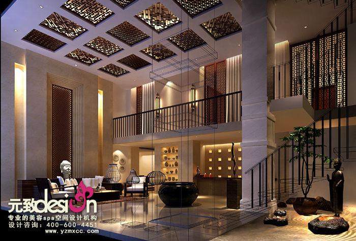 红动中国设计空间 燕莎美容spa会所 美容SPA装修设计 燕莎美容spa