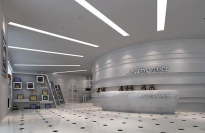 沁阳影楼设计之琳琅法国婚纱影楼设计;; 婚纱影楼前台装修设计图片图片