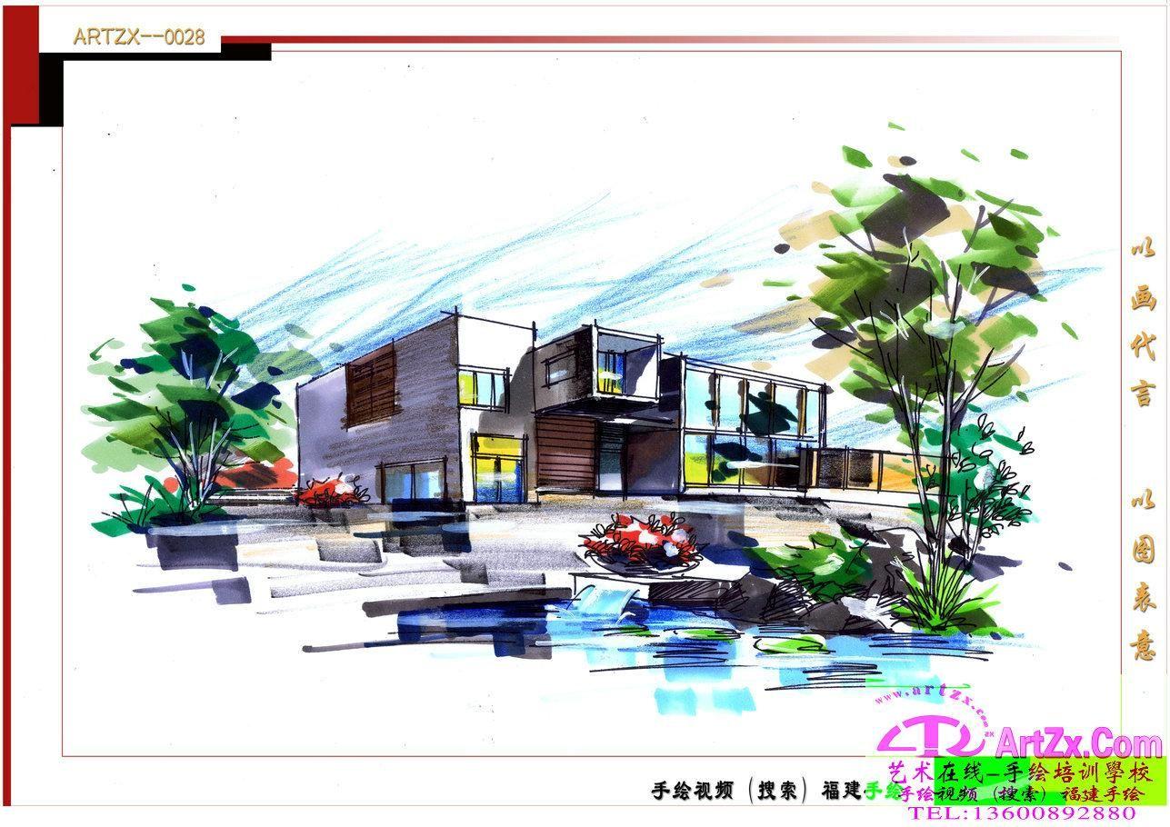 景观设计方案手绘_景观设计方案手绘分享展示