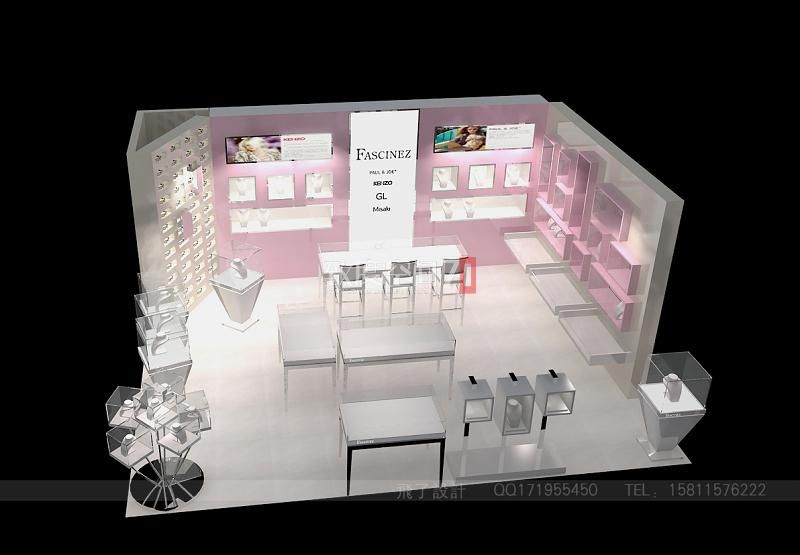 FASCINEZ&Presence饰品店-商场专卖店-v饰品visio如何关系绘制包含图图片