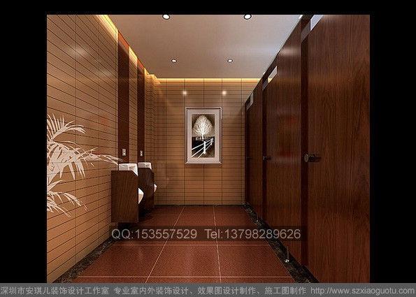 男士卫生间装修效果图作品  案例关键词: 男士 卫生间 洗手高清图片