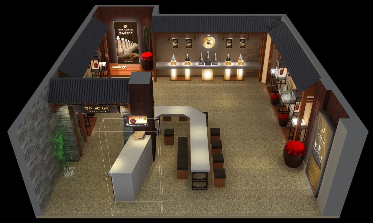 糖酒会展位设计搭建,糖酒会展厅设计装修