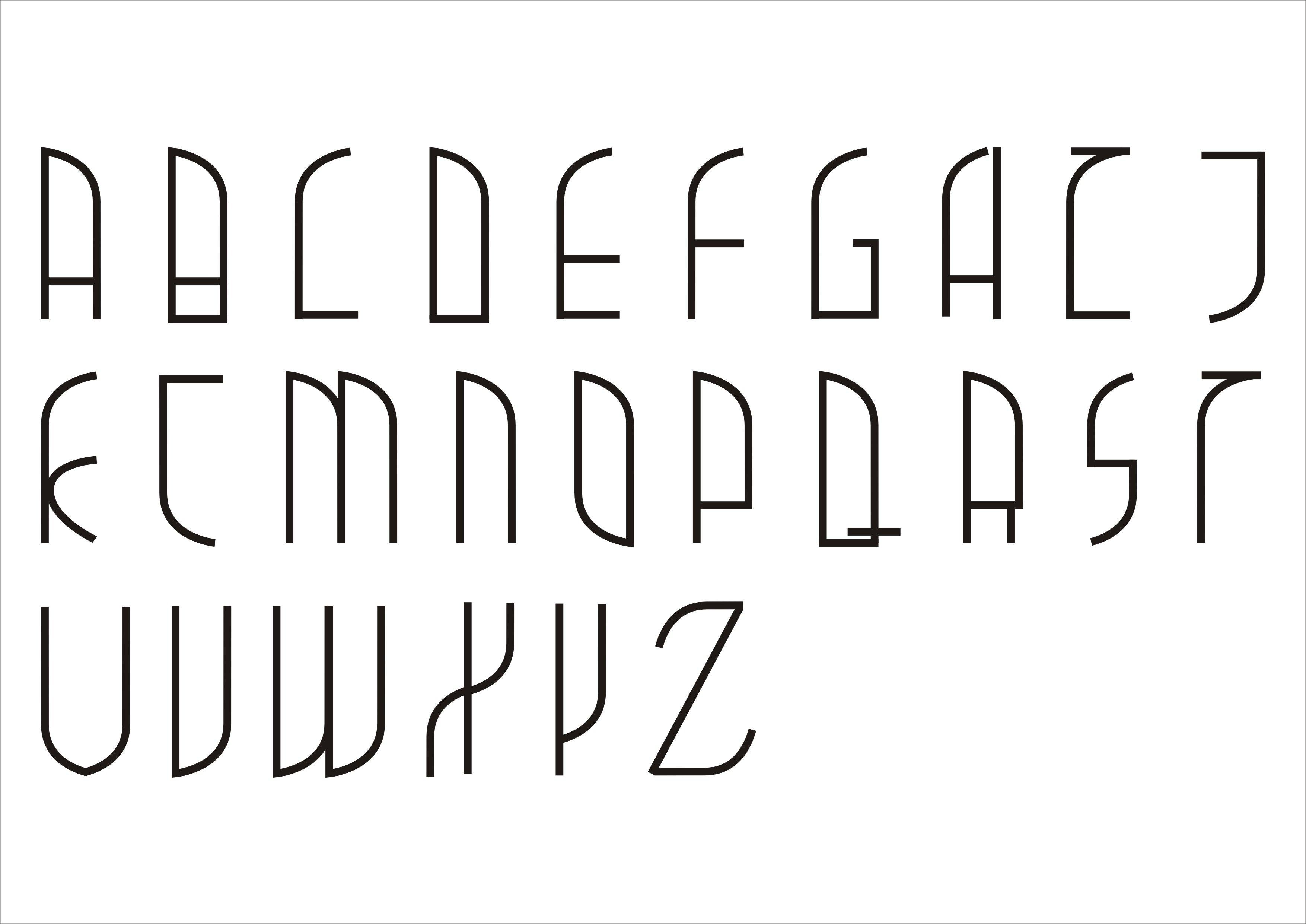 英文字体艺术字案例图片 - 设计师悠游333设计工作室