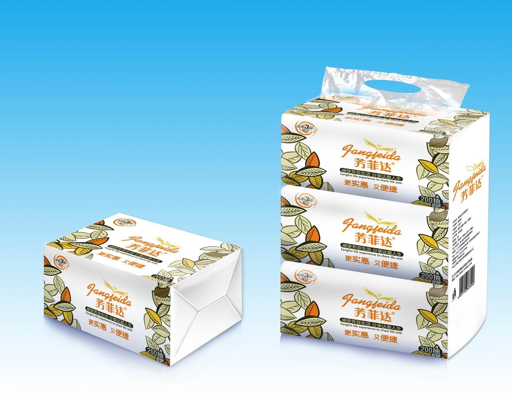 纸巾包装 包装 设计案例 设计师waiwai 设计