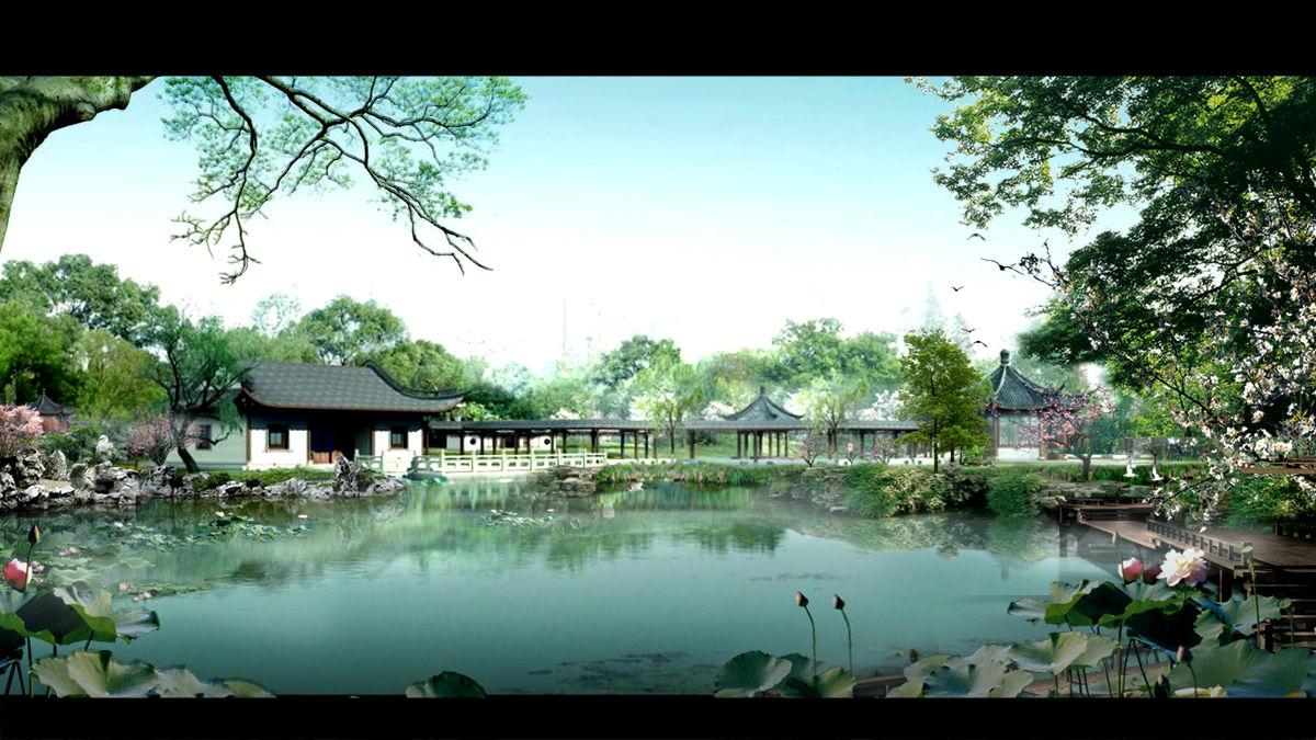 古典园林景观-园林-设计案例