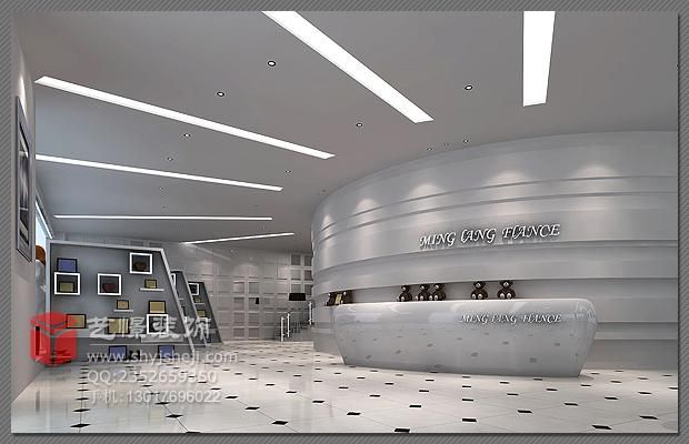 影楼大厅设计效果图