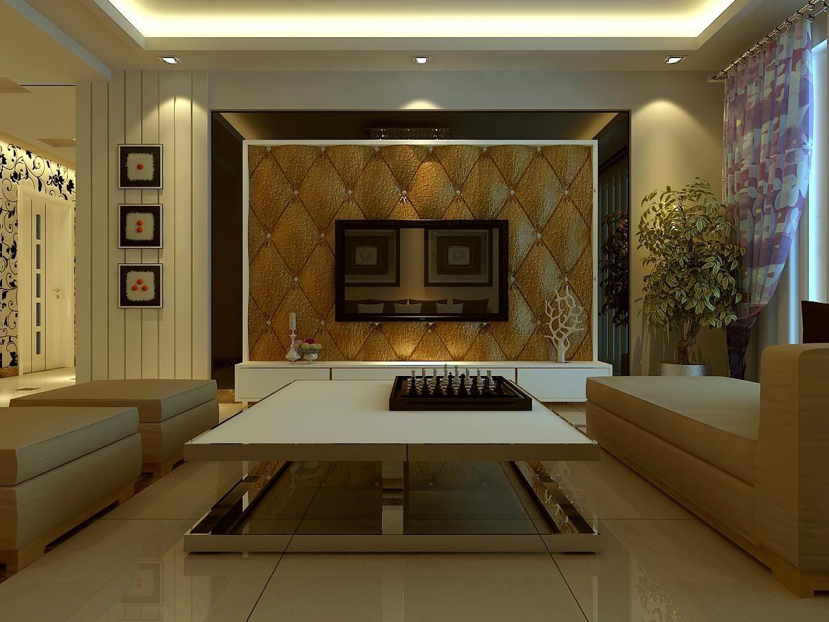 简约欧式客厅1案例图片
