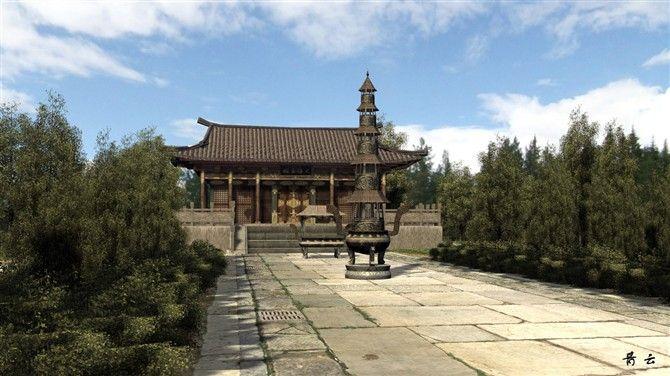 maya建模案例图片 设计师zhuhuixiang217设计工作室的空高清图片