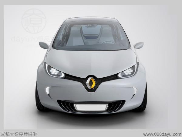 成都大煜设计的空间 红动中国设计空间 法国雷诺汽车最新标志设计 高清图片